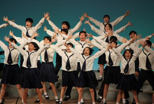 歌の力で友情を深める 杉並児童合唱団2019津久見公演